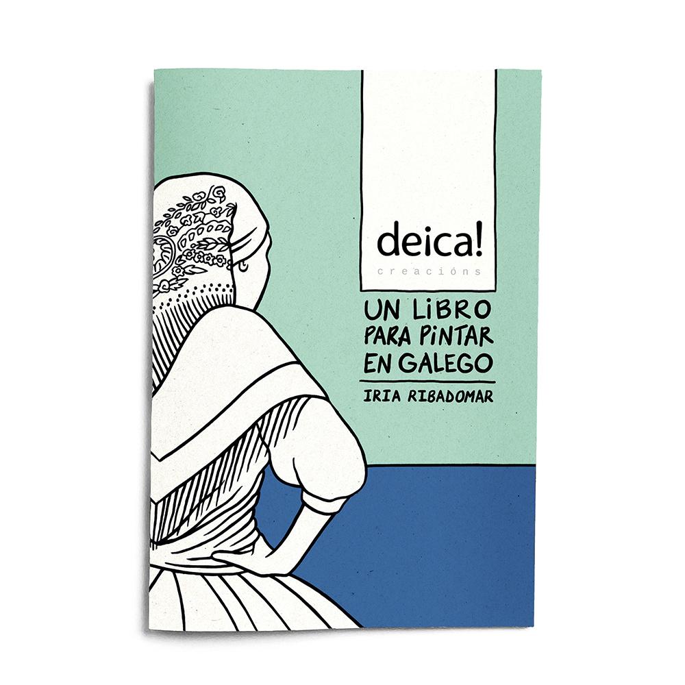 Un Libro para Pintar en Galego – Deica Creacions
