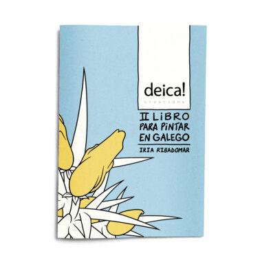un libro para pintar en galego